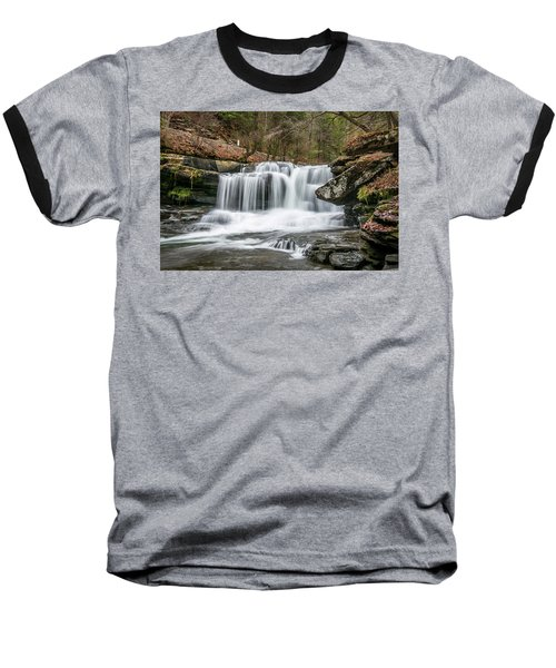 Dunloup Creek Falls Baseball T-Shirt