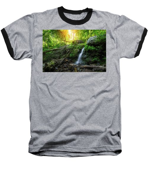 Dunnfield Creek Sunrise  Baseball T-Shirt