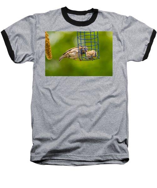 Dunnok Eating Baseball T-Shirt