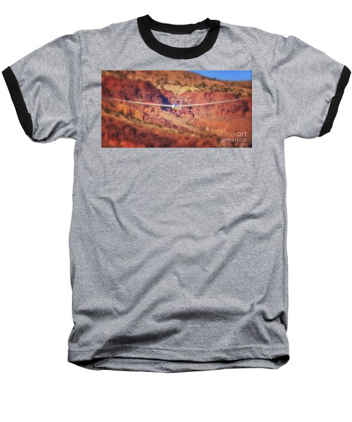 Duo Discus Over Red Rocks Baseball T-Shirt