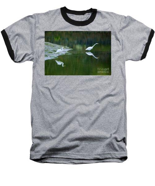 duo Baseball T-Shirt by Sheila Ping