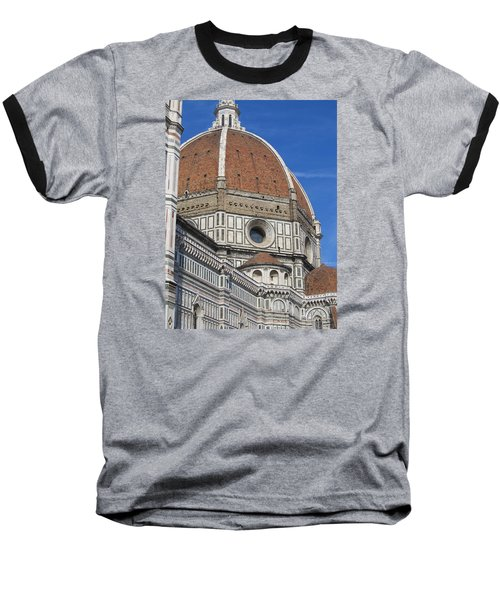 Duomo Cathedral Florence Italy  Baseball T-Shirt by Lisa Boyd