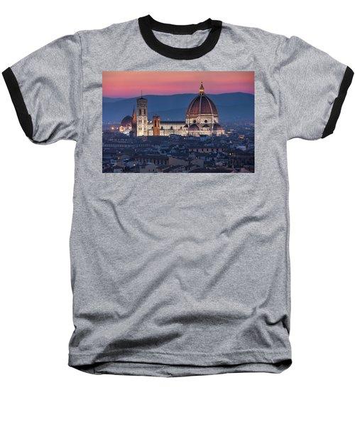 Duomo Di Firenze Baseball T-Shirt