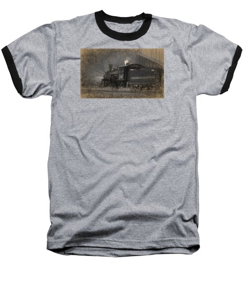 Durango And Silverton Train 2 Baseball T-Shirt