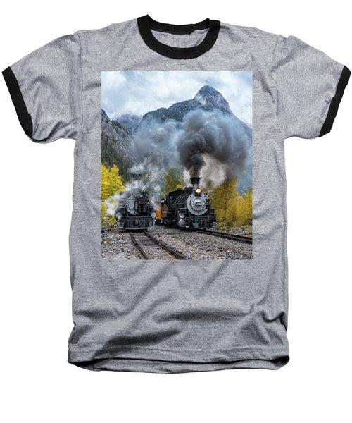 Durango Silverton Train Baseball T-Shirt