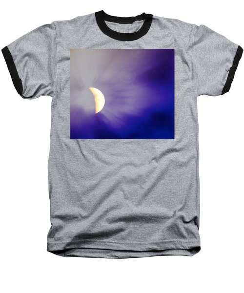 Aries Moon During The Total Lunar Eclipse 3 Baseball T-Shirt