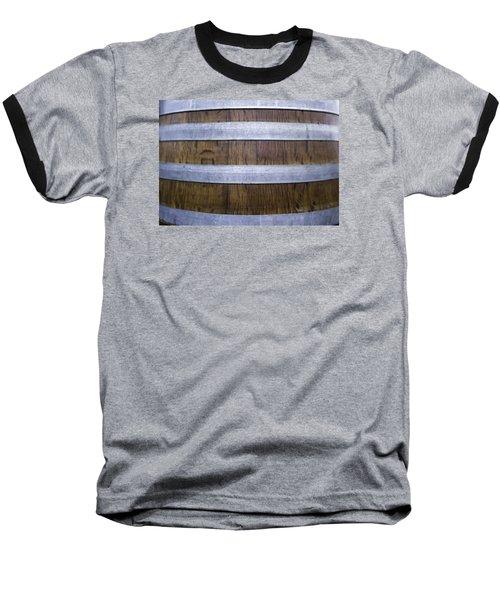 Durmast Barrel Baseball T-Shirt by Cesare Bargiggia