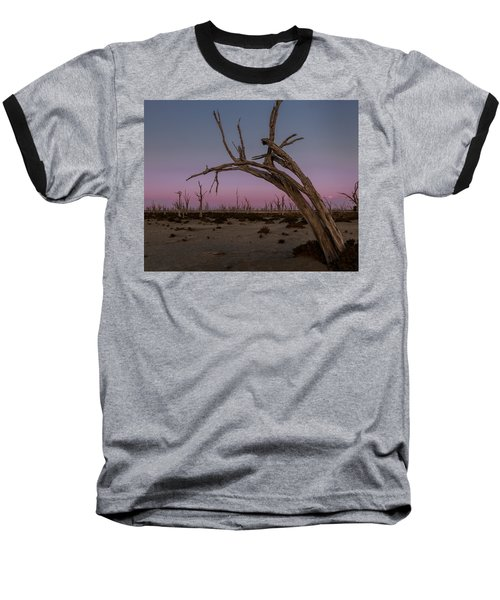 Dusk At Dumbleyung Lake Baseball T-Shirt