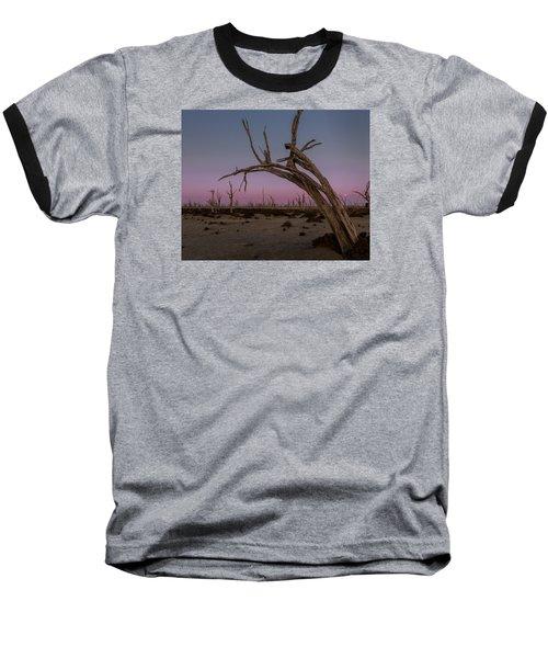 Dusk At Dumbleyung Lake Baseball T-Shirt
