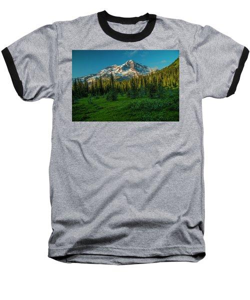 Dusk At Indian Henry Campground Baseball T-Shirt