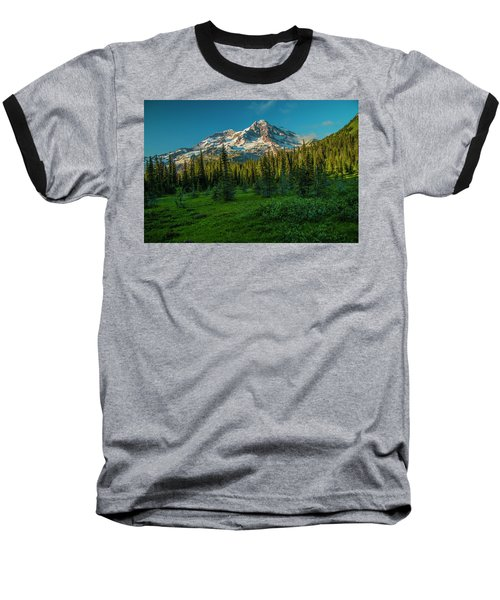 Dusk At Indian Henry Campground Baseball T-Shirt