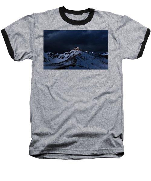 Dusk At Loveland Pass Baseball T-Shirt
