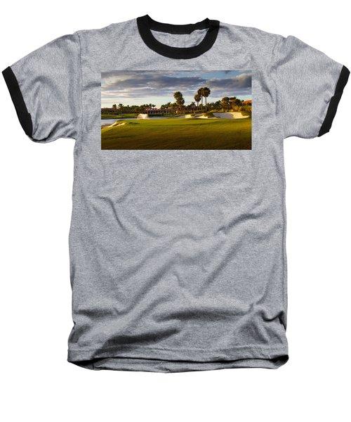 Dusk At P G A National Baseball T-Shirt