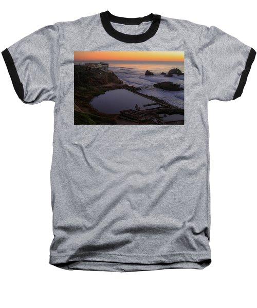 Dusk At Sutro Baths Baseball T-Shirt