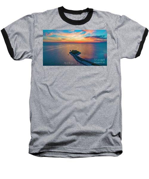 Dusk At The Knob Baseball T-Shirt