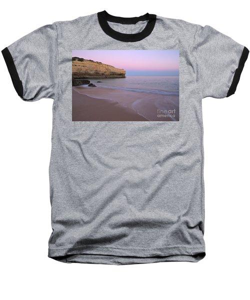 Dusk In Albandeira Beach Baseball T-Shirt by Angelo DeVal