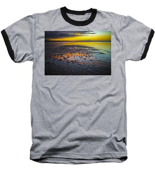 Dusk On Cayo Coco Baseball T-Shirt