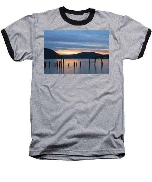 Dusk Sentinels Baseball T-Shirt by Angelo Marcialis