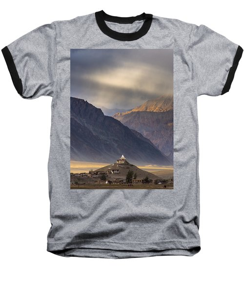 Dusty Evening, Padum, 2006 Baseball T-Shirt