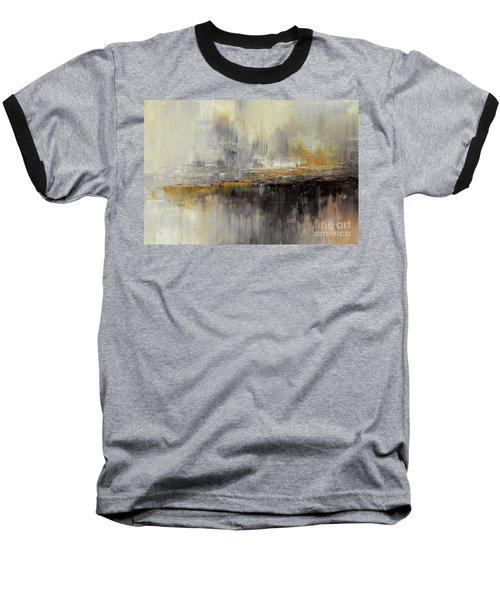 Dusty Mirage Baseball T-Shirt by Tatiana Iliina