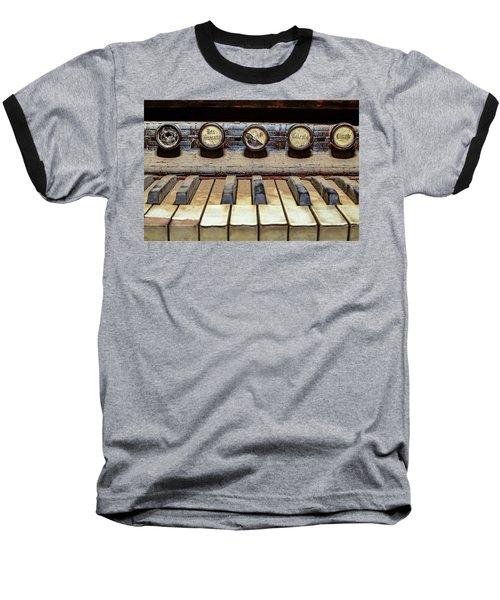 Dusty Old Keyboard Baseball T-Shirt