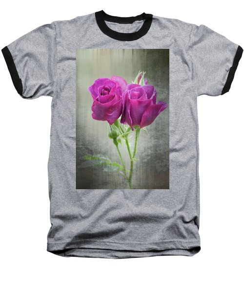 Dusty Roses Baseball T-Shirt