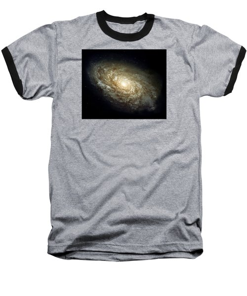 Dusty Spiral Galaxy  Baseball T-Shirt by Hubble Space Telescope