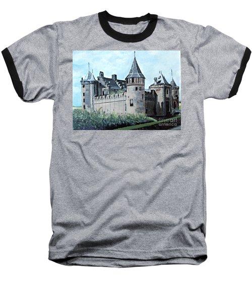 Dutch Castle In Muiden Baseball T-Shirt