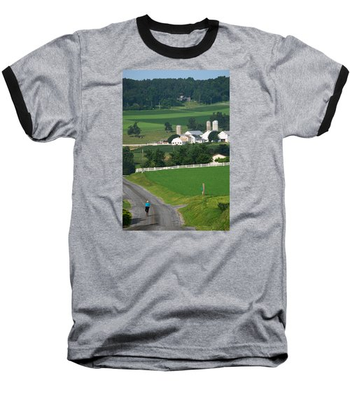 Dutch Country Bike Ride Baseball T-Shirt