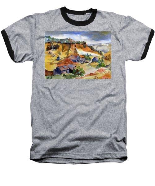 Dutch Flat Diggin's Gold Baseball T-Shirt