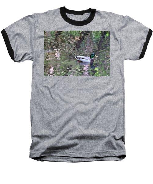 Duck Patterns Baseball T-Shirt