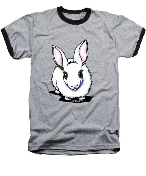 Dwarf Hotot Bunny Rabbit Baseball T-Shirt