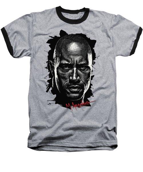 Dwayne Johnson Baseball T-Shirt