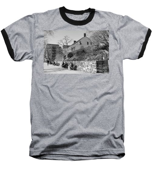 Dyckman Farmhouse  Baseball T-Shirt by Cole Thompson