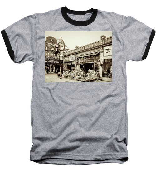 Baseball T-Shirt featuring the photograph Dyckman Theater, 1926 by Cole Thompson