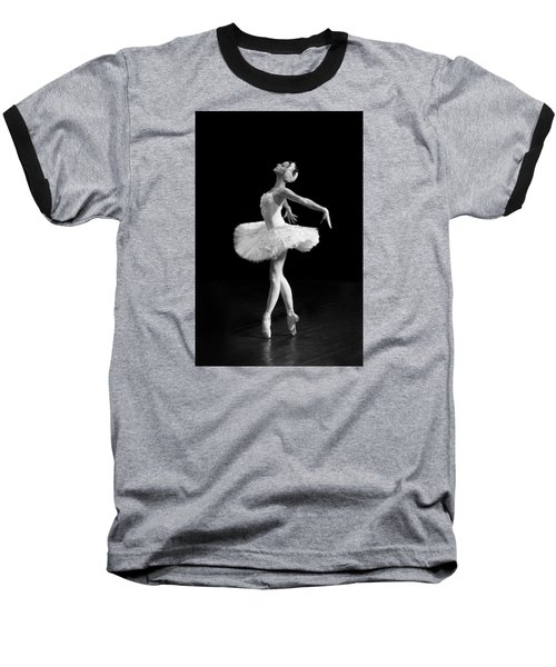 Dying Swan I Alternative Size Baseball T-Shirt