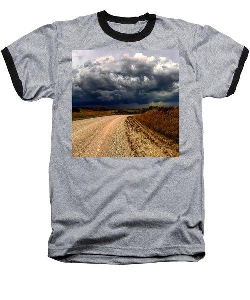 Dying Tornadic Supercell Baseball T-Shirt