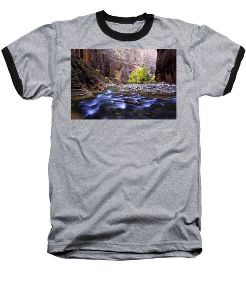 Baseball T-Shirt featuring the photograph Dynamic Zion by Chad Dutson