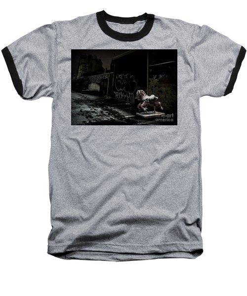 Dystopian Playground 1 Baseball T-Shirt