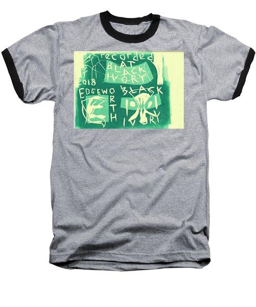 E Cd Green Baseball T-Shirt