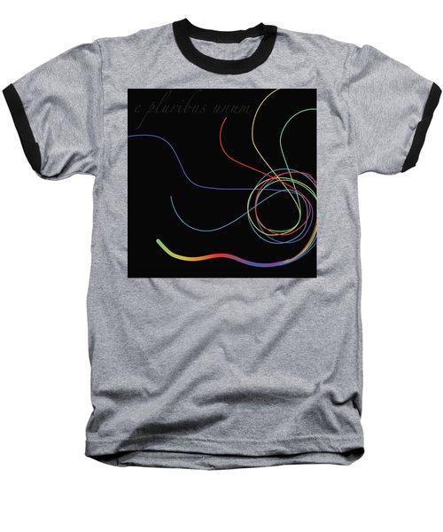 E Pluribus Unum Baseball T-Shirt