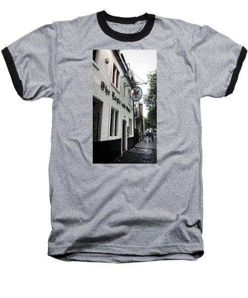 Eagle And Child Pub - Oxford Baseball T-Shirt by Stephen Stookey