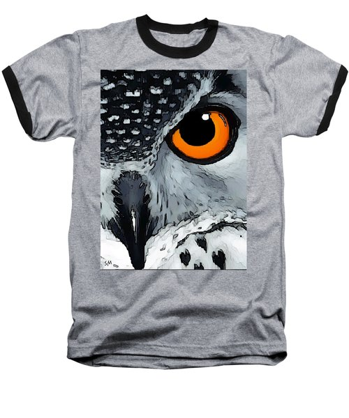Eagle Art Baseball T-Shirt