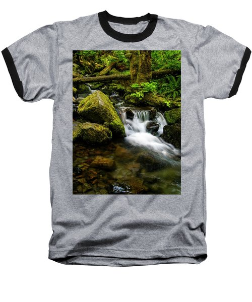 Eagle Creek Cascade Baseball T-Shirt