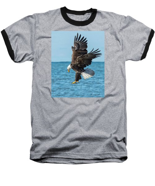 Eagle Dive Baseball T-Shirt