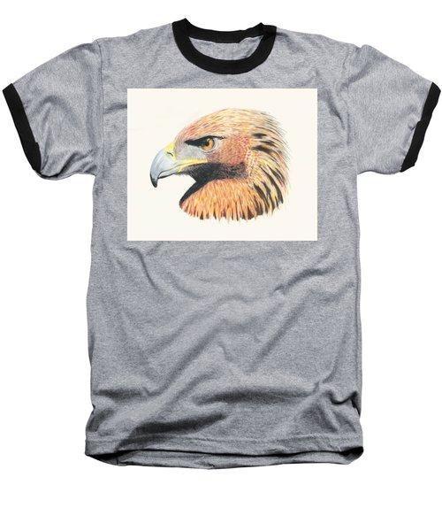 Eagle Eye  No Border Baseball T-Shirt by Stephanie Grant