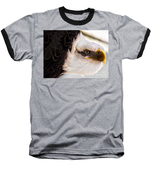 Eagle Eye Baseball T-Shirt by Sherman Perry