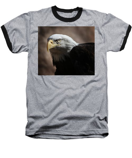 Baseball T-Shirt featuring the photograph Eagle Eyed by Marie Leslie