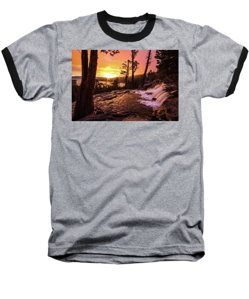 Eagle Falls Sunrise Baseball T-Shirt