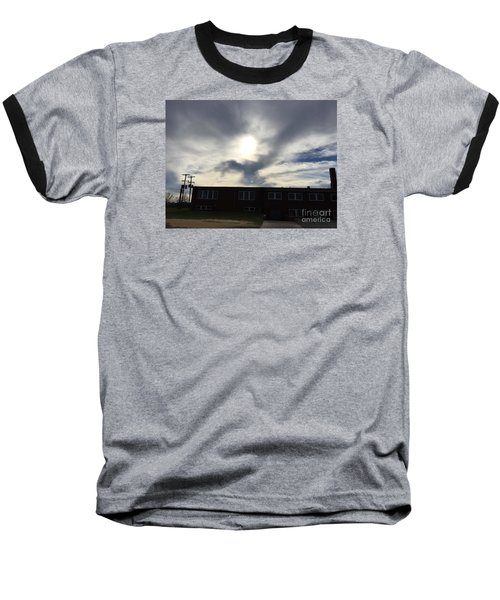 Eagle Cloud In The Carolina Sky Baseball T-Shirt